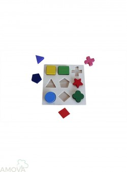 Clasificación Geométrica Puzzle