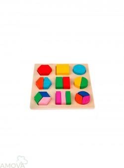 Clasificación Geométrica Puzzle 02